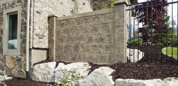 Cement wall fences  || RhinoRock.com