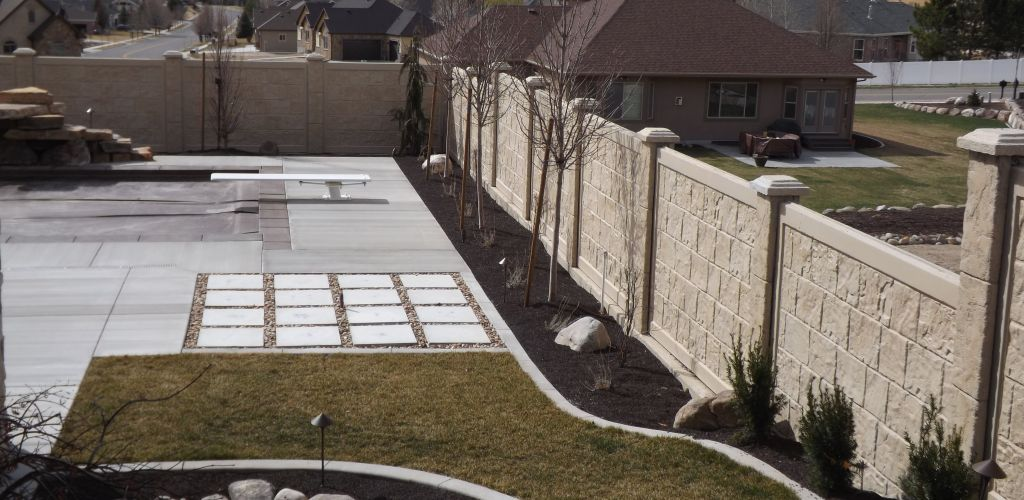 Rhinorock Affordable Concrete Fencing